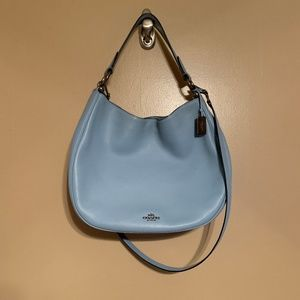 Coach Light Blue Shoulder / Crossbody Bag